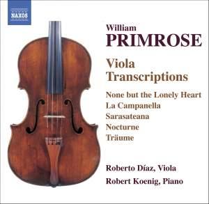 Primrose - Viola Transcriptions Product Image