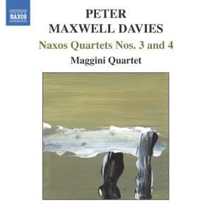 Peter Maxwell Davies: Naxos Quartets Nos. 3 & 4 Product Image