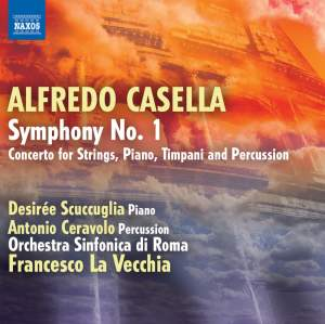 Casella: Symphony No. 1 Product Image