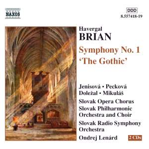 Brian: Symphony No. 1 'Gothic' Product Image