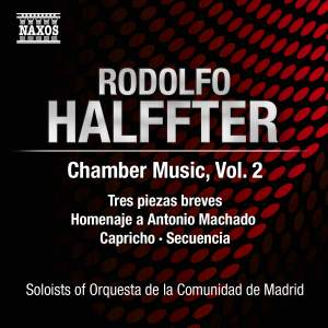 Rodolfo Halffter: Chamber Music, Volume 2 Product Image