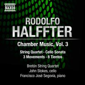 Rodolfo Halffter: Chamber Music, Volume 3 Product Image