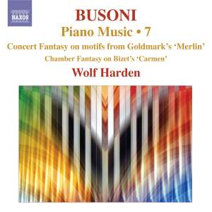 Busoni - Piano Music Volume 7 Product Image