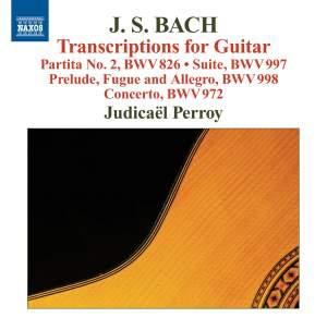 JS Bach: Transcriptions for Guitar Product Image