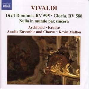 Vivaldi - Sacred Music Volume 1
