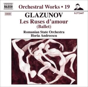 Glazunov - Orchestral Works Volume 19 Product Image