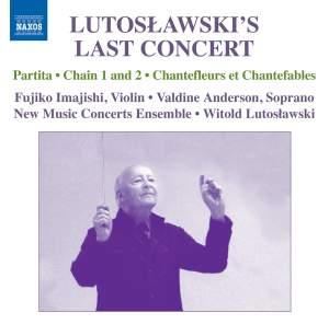 Lutosławski's Last Concert