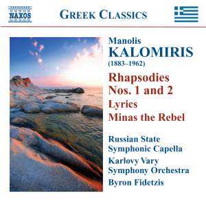 Kalomiris: Rhapsodies and Symphonic Poems Product Image