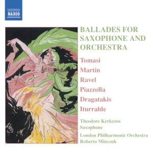 Ballads for Saxophone & Orchestra Product Image