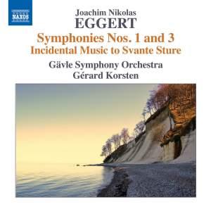 Eggert: Symphonies Nos. 1 and 3