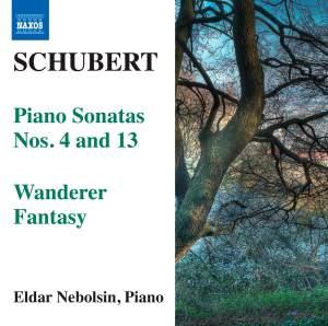 Schubert: Piano Sonatas Nos. 4 & 13 Product Image