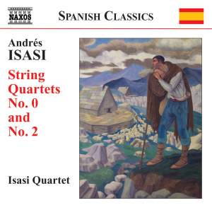 Andrés Isasi: String Quartets, Volume 1 Product Image