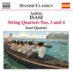 Andrés Isasi: String Quartets Volume 2 Product Image