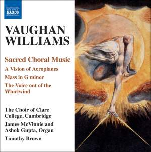 Vaughan Williams - Sacred Choral Music Product Image