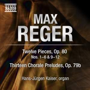 Reger - Organ Works Volume 11