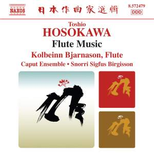Toshio Hosokawa: Flute Music Product Image
