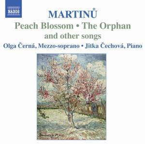 Martinu - Songs Product Image