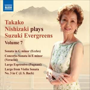 Takako Nishizaki plays Suzuki Evergreens - Volume 7 Product Image