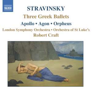Stravinsky - Three Greek Ballets Product Image