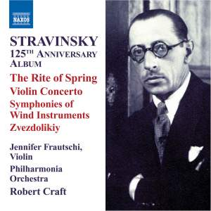 Stravinsky 125th Anniversary Album Product Image