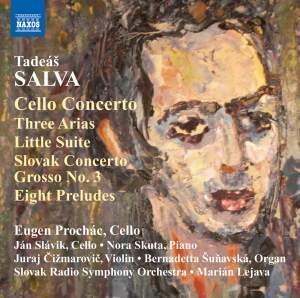 Tadeáš Salva: Cello Concerto Product Image