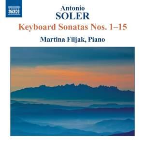 Antonio Soler: Keyboard Sonatas Nos. 1–15 Product Image