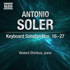 Antonio Soler: Keyboard Sonatas Nos. 16-27 Product Image