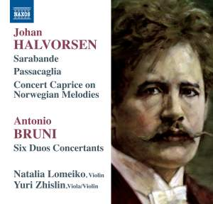 Violin and Viola Duos by Halvorsen & Bruni Product Image