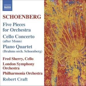 Schoenberg: 5 orchestral pieces, Op. 16, etc. Product Image