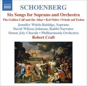 Schoenberg - Choral Works
