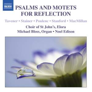 Psalms and Motets for Reflection Product Image