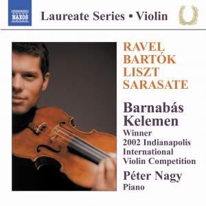 Rhapsodies For Violin & Piano