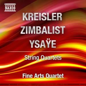 Kreisler & Zimbalist: String Quartets Product Image