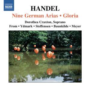 Handel: Nine German Arias HWV 202-210