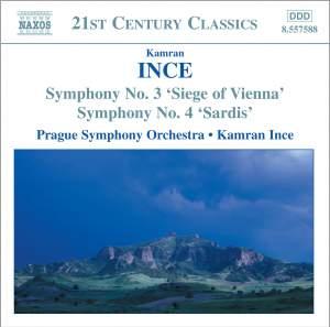 Kamran Ince: Symphonies Nos. 3 & 4