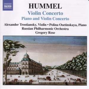 Hummel: Violin Concerto & Piano and Violin Concerto