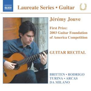 Guitar Recital: Jeremy Jouve Product Image