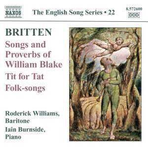 The English Song Series Volume 22 - Benjamin Britten