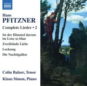 Hans Pfitzner: Complete Lieder Volume 2 Product Image