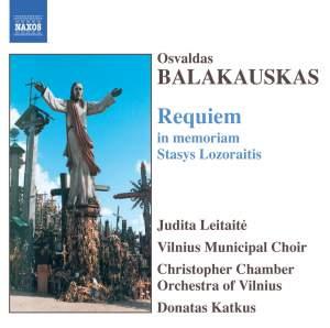 Balakauskas: Requiem in memoriam Stasys Lozoraitis Product Image