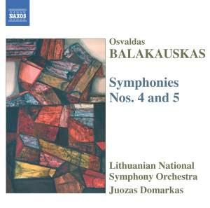Balakauskas: Symphonies Nos. 4 & 5 Product Image