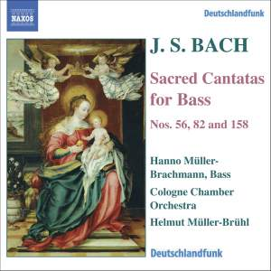 Bach - Sacred Cantatas for Bass Product Image