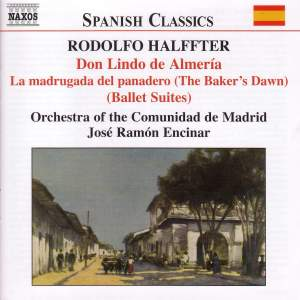 Rodolfo Halffter: Orchestral Works Product Image