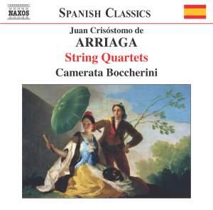 Arriaga: String Quartets Nos. 1-3 Product Image