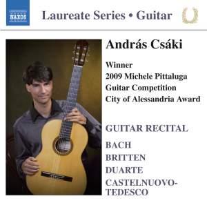 Guitar Recital: András Csáki