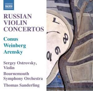 Russian Violin Concertos Product Image