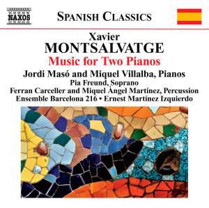 Montsalvatge: Piano Music, Volume 3