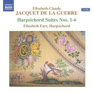 Jacquet de la Guerre: Harpsichord Suites Nos. 1-6 Product Image