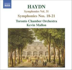 Haydn - Symphonies Volume 31 Product Image