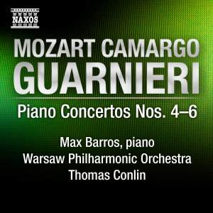 Guarnieri - Piano Concertos Nos. 4, 5 & 6 Product Image